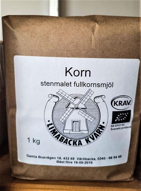 Korn Fullkornsmjöl 1 kg