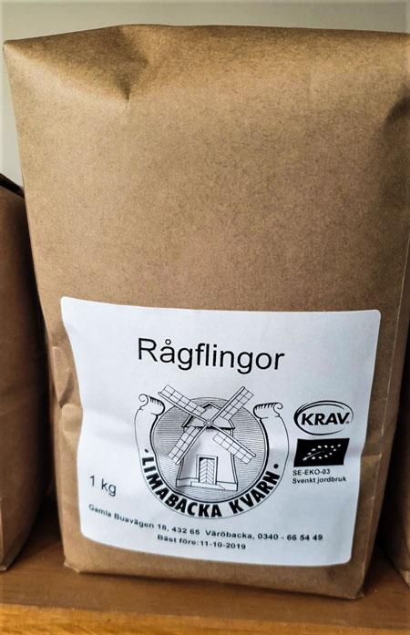 Rågflingor 1 kg