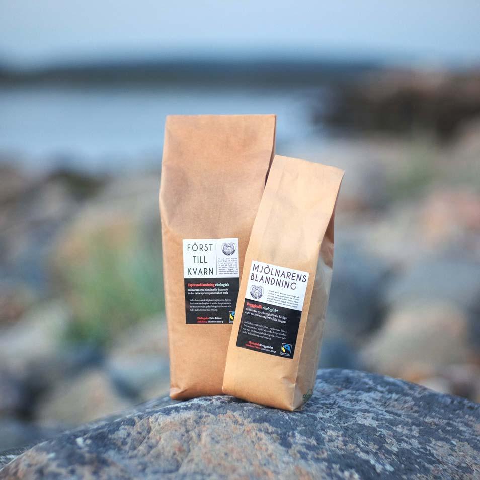 Först till Kvarn / espressoblandning, ekologisk
